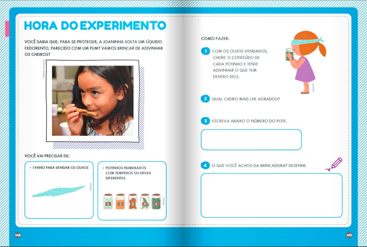 experimento educação infantil
